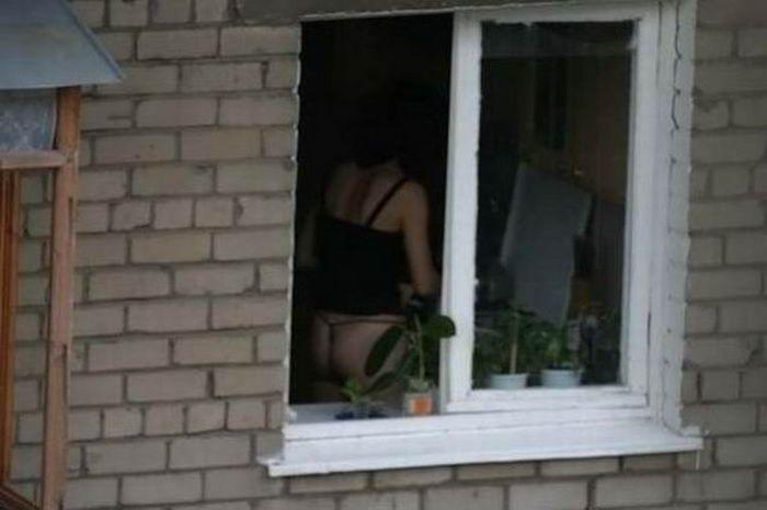 видео подсмотренное через окно