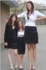 Самые высокие девушки в мире.  Что будет, если почистить обувь зубной пастой.