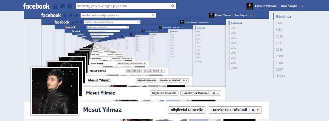 Sözlük yazarlarının facebook kapak fotoğrafları