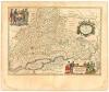 """Название карты:  """"Россия, в просторечии Московия """"14 Издание: Амстердам, 1645 г..."""