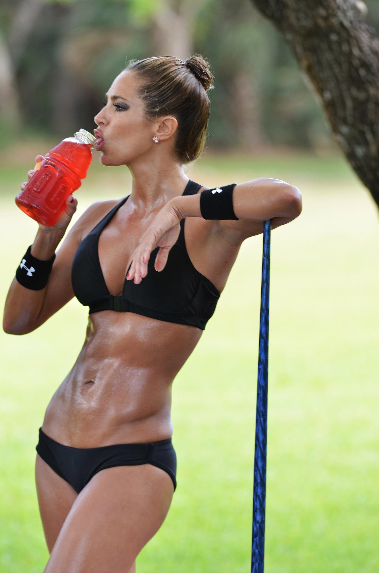 Фото девушек спортивного телосложения 9 фотография