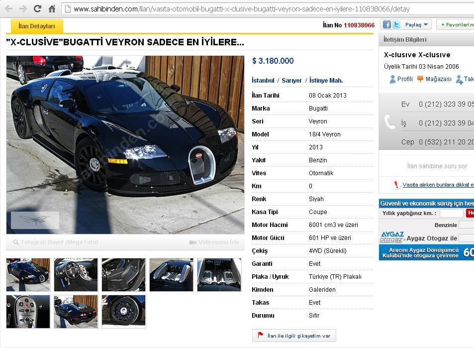 bugatti veyron sayfa 4 uluda s zl k. Black Bedroom Furniture Sets. Home Design Ideas