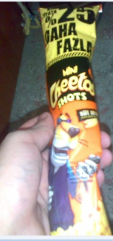 mini cheetos shots
