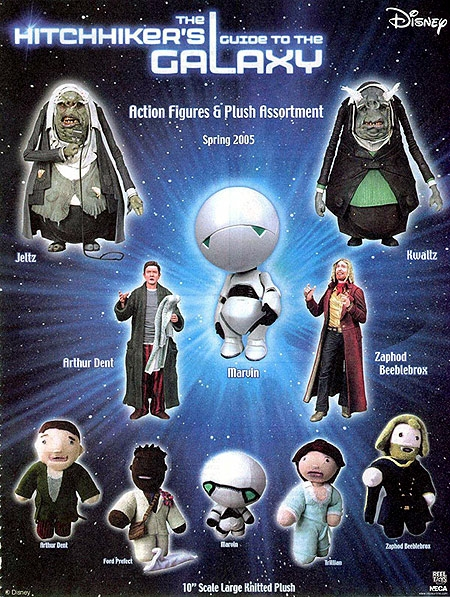 the hitchhiker s guide to the galaxy resim 1